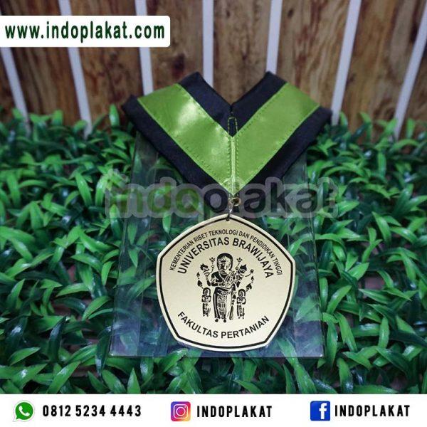 jual medali wisuda universita brawijaya malang