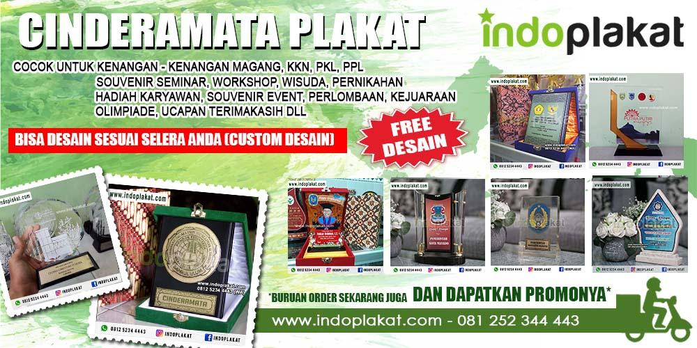 Jasa Pembuatan Plakat Surabaya