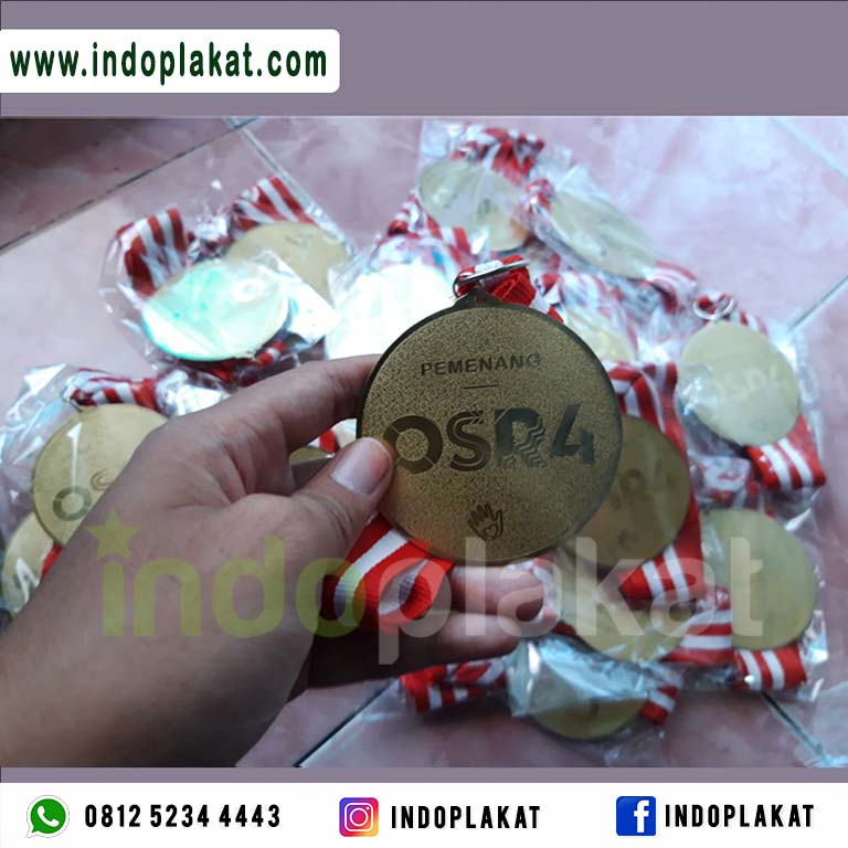 Harga Jual Medali Kuningan Murah Medali Rub_medali Lari Medali Kejuaraan Medali Olimpiade