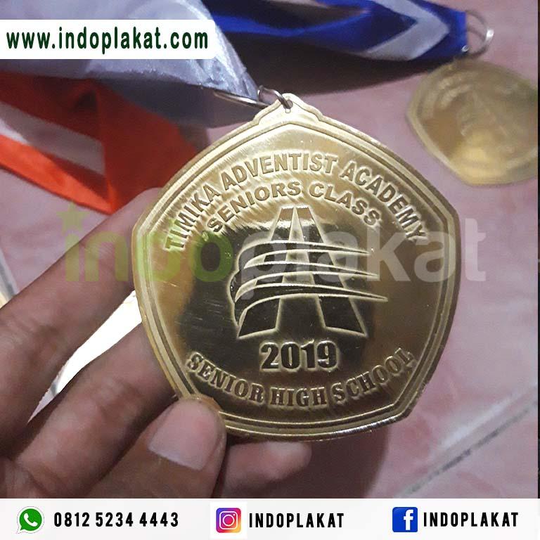 Jual Medali Wisuda Kuningan Logam Papua Jayapura Ambon Maluku Timika Aceh Padang