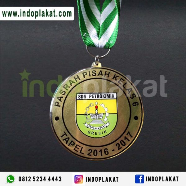 Jual Medali Wisuda Kuningan Murah Di Aceh PAdang Riau Bengkulu Makassar Pontianak Aceh Besar Medan Pekanbaru Tabalong