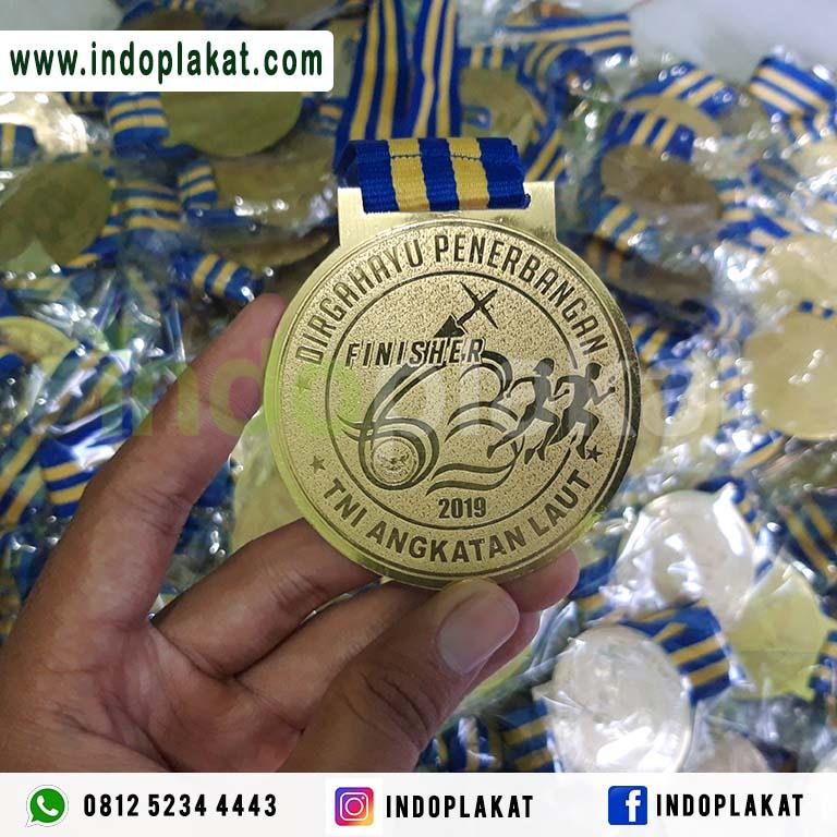 Medali Event Lari Run Kejuaraan Polri TNI Angkatan Udara Darat Laut Murah
