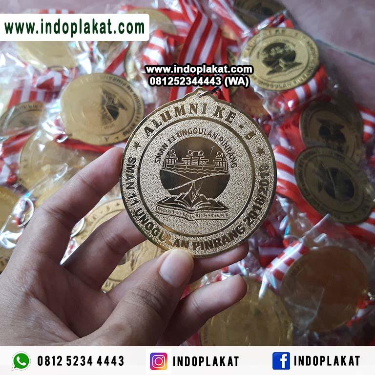 Pengrajin Medali Kuningan Untuk Wisuda LAri Run Olimpiade Murah