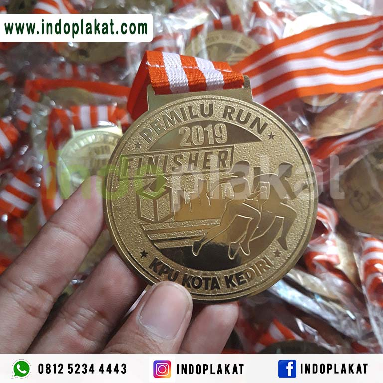 Pusat Pembuatan Medali Lomba Lari Run Event Olimpiade Kejuaraan Murah