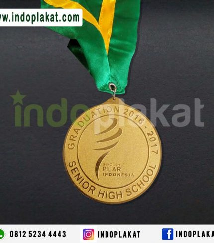 Bikin Buat Pesan Medali Kuningan Murah Wisuda Lomba Kejuaraan medali Emas Medali Logam