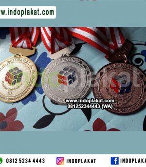 Harga Jual Tempat Produksi Medali Kompetisi Medali Kejuaraan Medali Lomba Matematika Fisika Biologi Cerdas Cermat